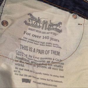 Levi's Jeans - Genuine Levi's 514 Denim Jeans - Dark Blue Wash